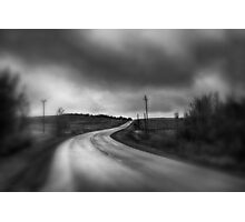 THERE LIES A ROAD Photographic Print