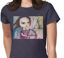 Native Girl Womens Fitted T-Shirt