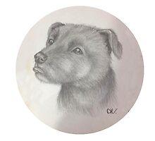Staffordshire Bull Terrier 'Staffy' by LostGirlArt