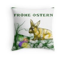 Happy Easter-Scrippler Throw Pillow