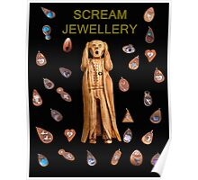 Scream Jewellery Poster