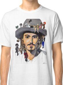 Johnny Depp no back Classic T-Shirt