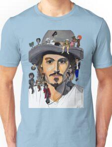 Johnny Depp no back Unisex T-Shirt