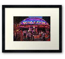 The Waltzers Framed Print