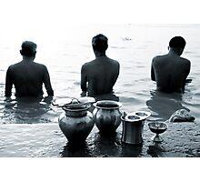 Morning rituals Photographic Print