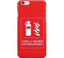 Chilli Burn Fire Extinguisher Funny Spicy Curry iPhone Case/Skin
