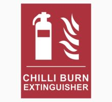 Chilli Burn Fire Extinguisher Funny Spicy Curry Kids Clothes