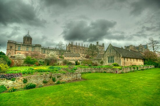 Memorial Gardens & Christ Church Oxford by John Hare