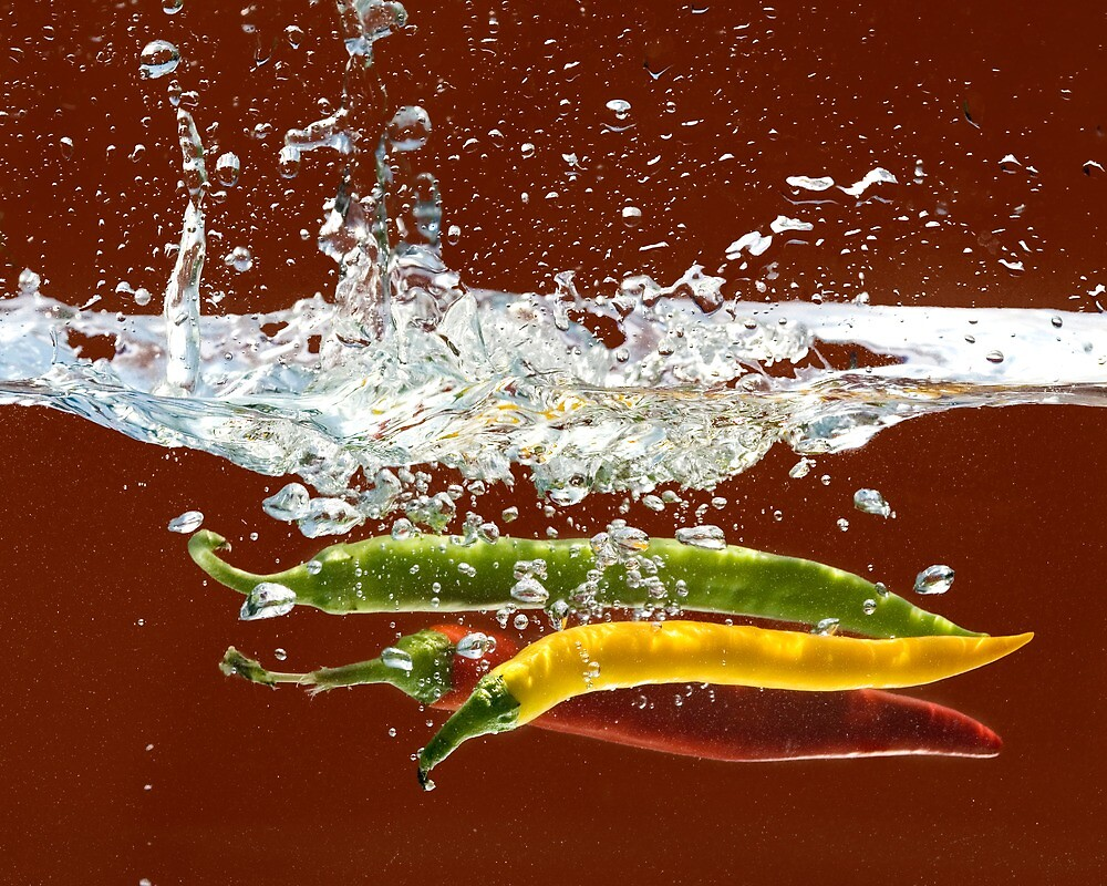 Three Hot Peppers by amdiederich