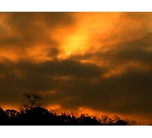 Sunrise in Louisiana Photographic Print