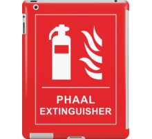 Funny Hot Spicy Curry Phaal Fire Extinguisher Joke iPad Case/Skin