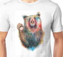 Bearthoven waves Hello Unisex T-Shirt