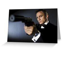 james bond 1 Greeting Card