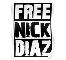 Free Nick Diaz Poster