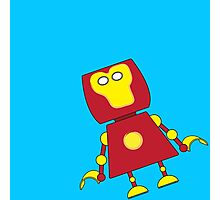 Robots in Disguises - Stark bot Photographic Print