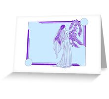 Art Deco Wedding Greeting Card