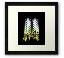 Flowers inside St Boniface Framed Print