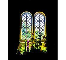 Flowers inside St Boniface Photographic Print