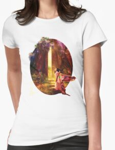 A Knock At The Door Womens Fitted T-Shirt