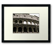 Home of the Gladiators Framed Print
