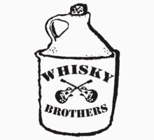 Josh Allen and the Whisky Bros Logo by muddyrecords