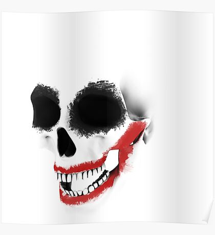 the smile of the skull Poster