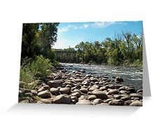 Stony Creek in Colorado Greeting Card