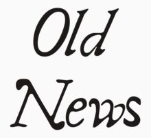 Old News logo by muddyrecords