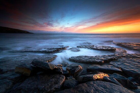 Southerndown Sundown by Jeanie