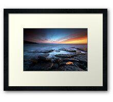 Southerndown Sundown Framed Print