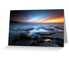 Southerndown Sundown Greeting Card