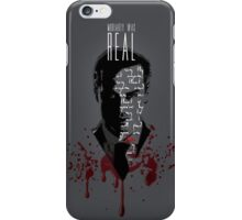 Moriarty Was Real (w/ text) iPhone Case/Skin