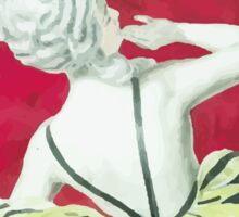 Leonetto Cappiello Affiche Crème de Luzy Sticker