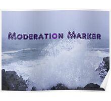 Moderation Marker Poster