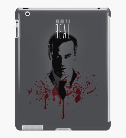 Moriarty Was Real (plain) iPad Case/Skin