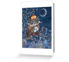 Night time dreamer Greeting Card