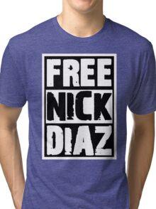Free Nick Diaz Tri-blend T-Shirt