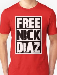 Free Nick Diaz T-Shirt