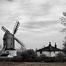 Saxtead Green Windmill by Nicholas Jermy
