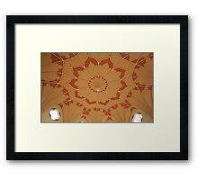 Gothic Temple Framed Print