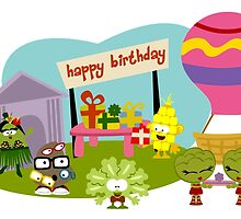 Veggie Birthday by Sonia Pascual