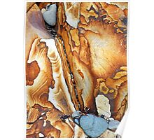 Sandstone Rock Poster