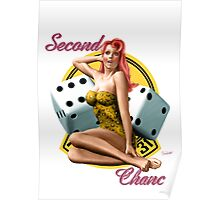 Second Chance Classic Pin Up Poster