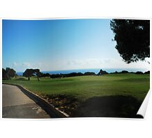 Golfing in Cyprus Poster