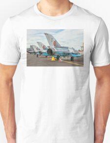 Elbit-Aerostar MiG-21 LanceR-C line-up T-Shirt