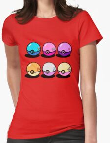 Pokemon is magic Womens Fitted T-Shirt