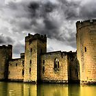 Bodiam Castle  by larry flewers