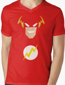 Flash Mens V-Neck T-Shirt