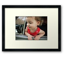 Annabelle Sure Loves to Drive - series [1] Framed Print