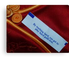 04-03-11:  Good Fortune Canvas Print